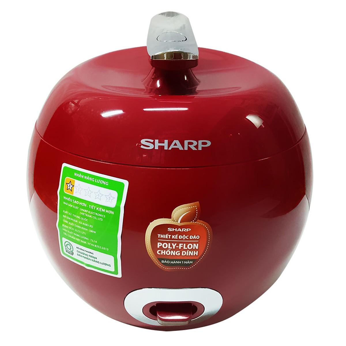 Sharp KS-A08V-R (0.72 lít)