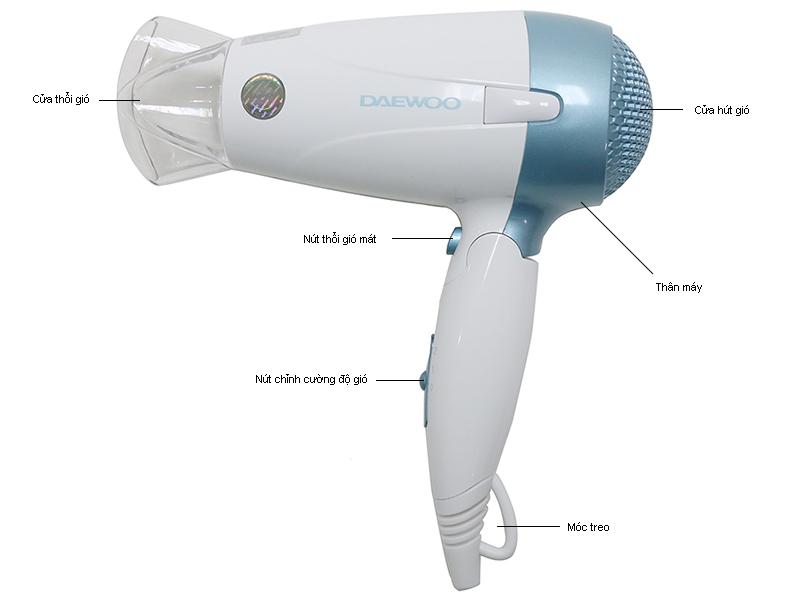 Cấu tạo máy sấy tóc