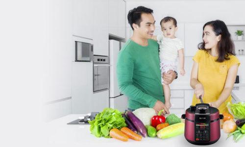 Top 5 nồi áp suất tốt nhất giúp bạn tiết kiệm 70% thời gian bếp núc