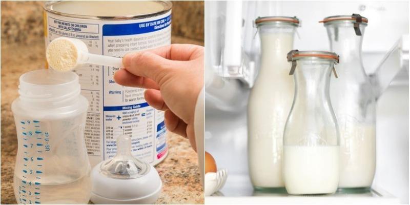 Sữa công thức để được bao lâu sau khi pha xong? 2