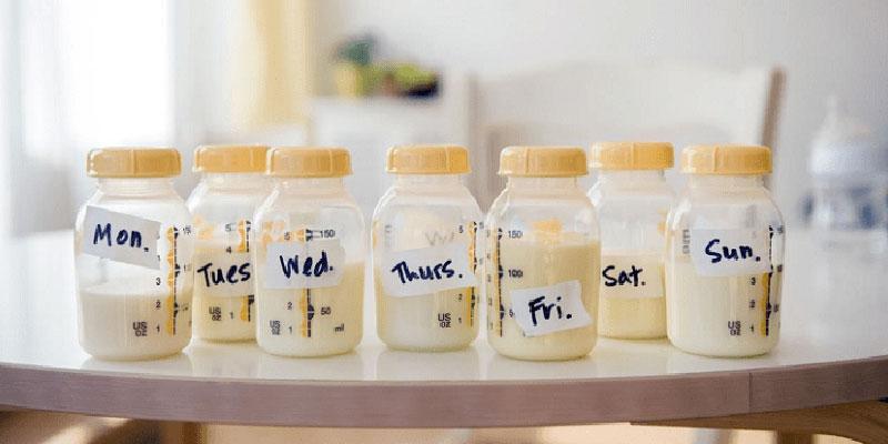Cách bảo quản sữa mẹ đúng cách