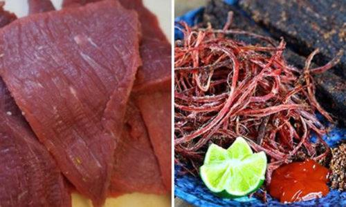 Cách làm thịt trâu khô bằng lò vi sóng nhanh mà cực ngon