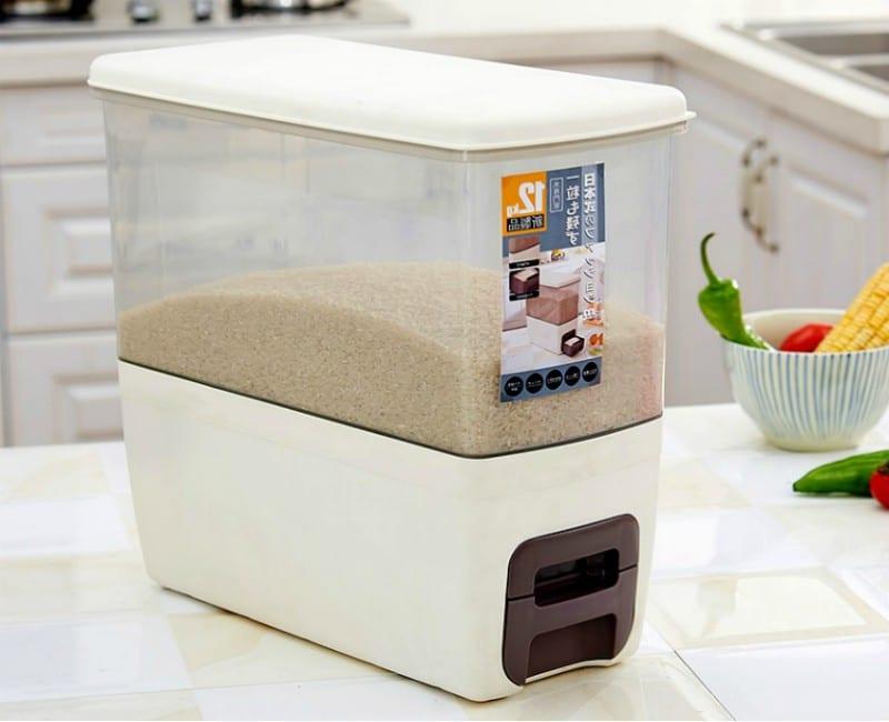 Tiêu chí lựa chọn thùng gạo thông minh