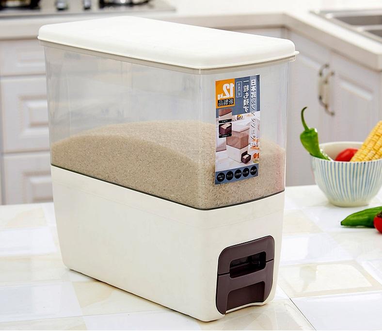 Thùng đựng gạo thông minh loại nào tốt nhất hiện nay? 5