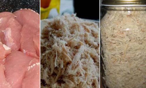 Cách làm ruốc thịt lợn bằng máy xay sinh tố