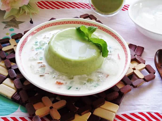 Caramen trà xanh thơm mát