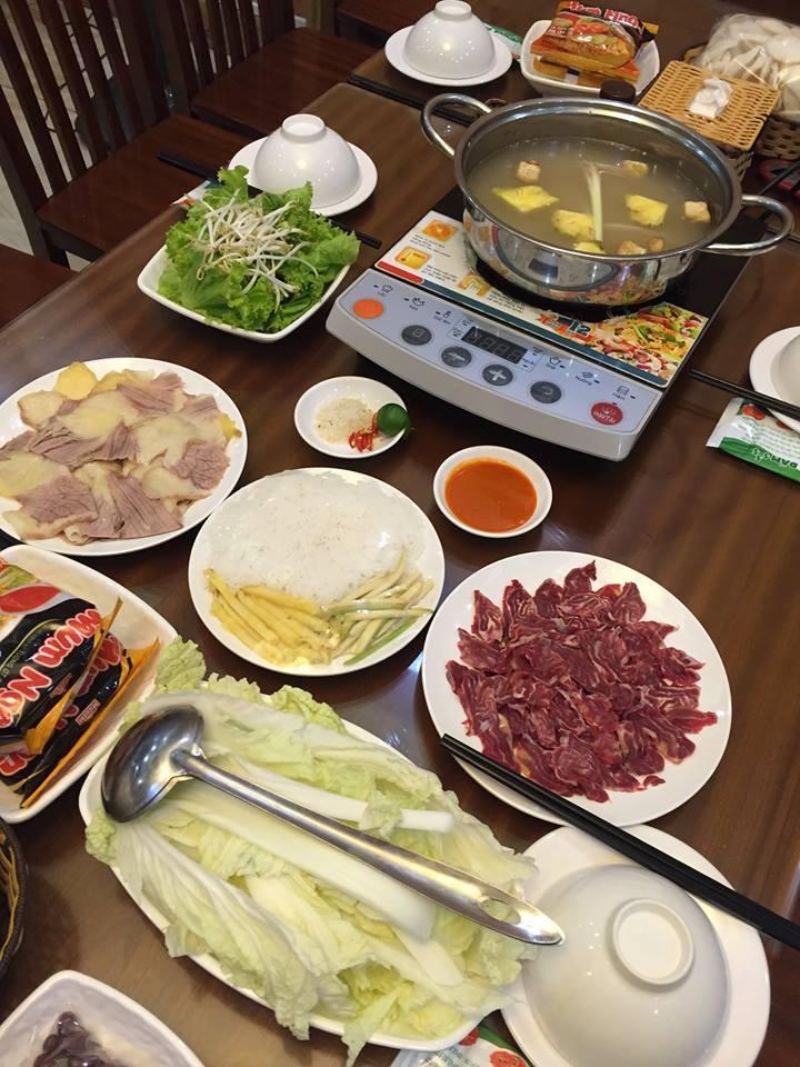 Bò Nhúng Dấm 555 - quán ăn ngon ở Cầu Giấy