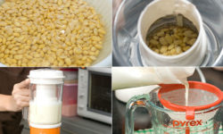 Bật mí cách làm sữa đậu nành bằng máy xay sinh tố 2