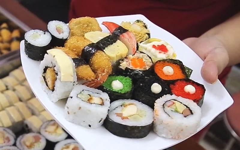 Gimbap - món ăn khiến bao thực khách say mê