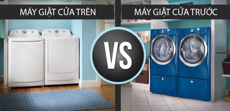 Chọn loại máy giặt