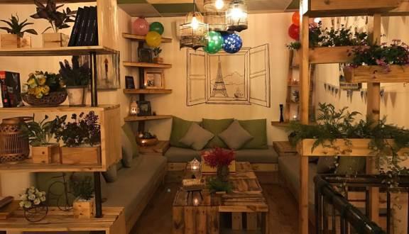 Myn Café được trang trí với một bố cục hoàn hảo