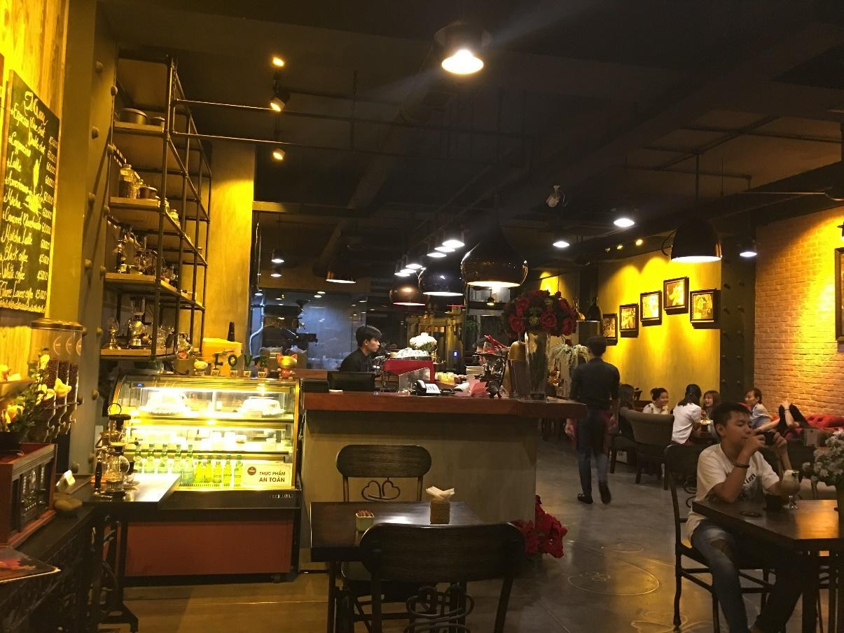 TeeMay Coffee mang đậm phong cách Châu  u sang trọng
