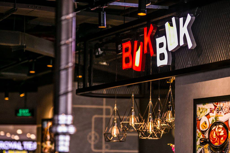 Thưởng thức các món nướng thơm ngon tại Buk BUk