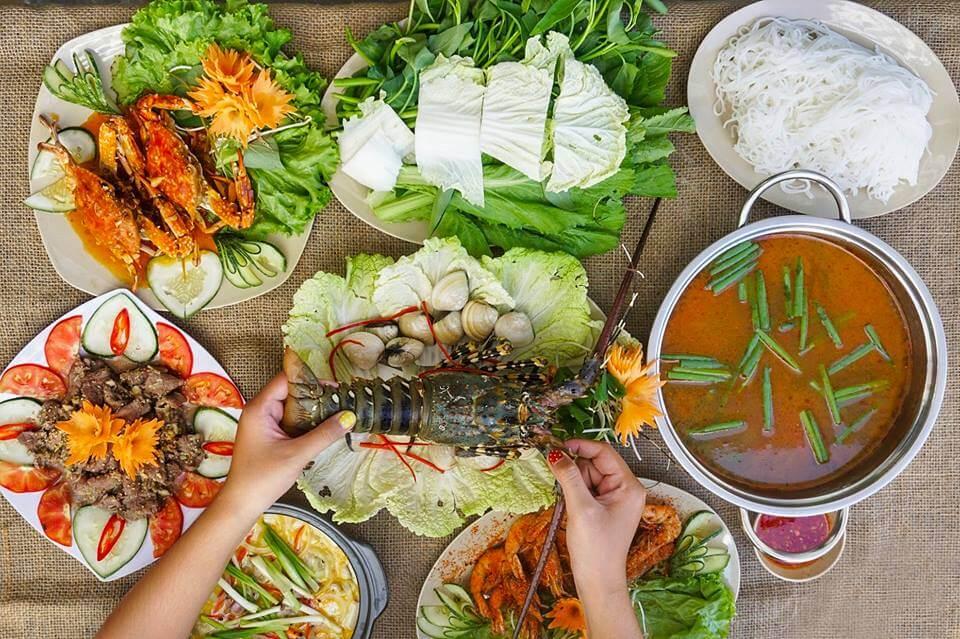 Hải sản Giang Ghẹ quận Tân Bình
