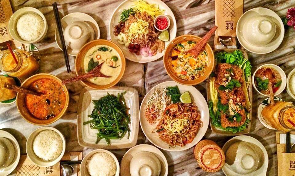 Lạc Thái 6 là địa điểm quán nhậu mang hương vị của đất nước Thái Lan