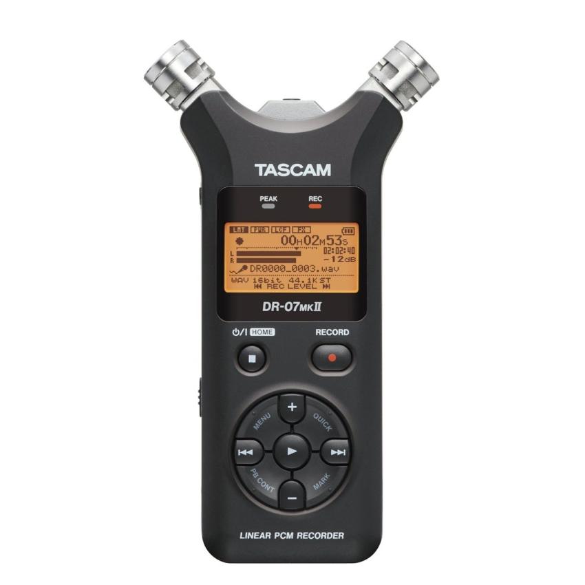 Máy ghi âm cầm tay Tascam DR-07 MKII