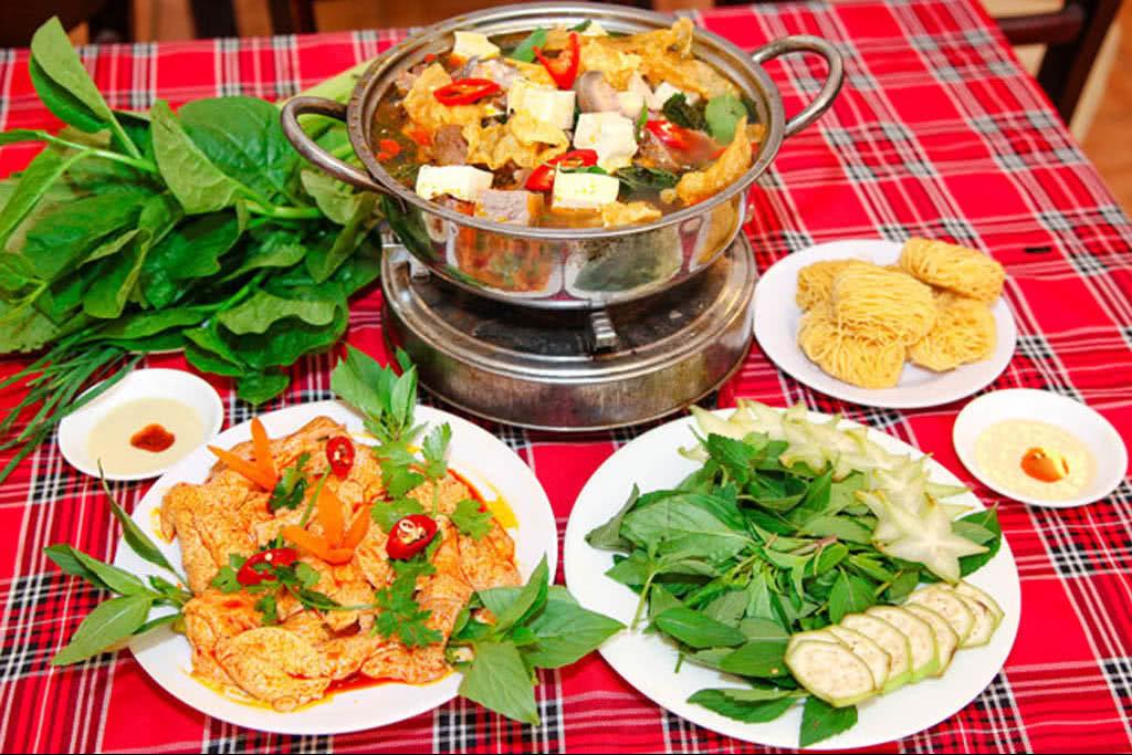 Quán Ăn Gia Đình Đại Dương nổi tiếng với các món dê