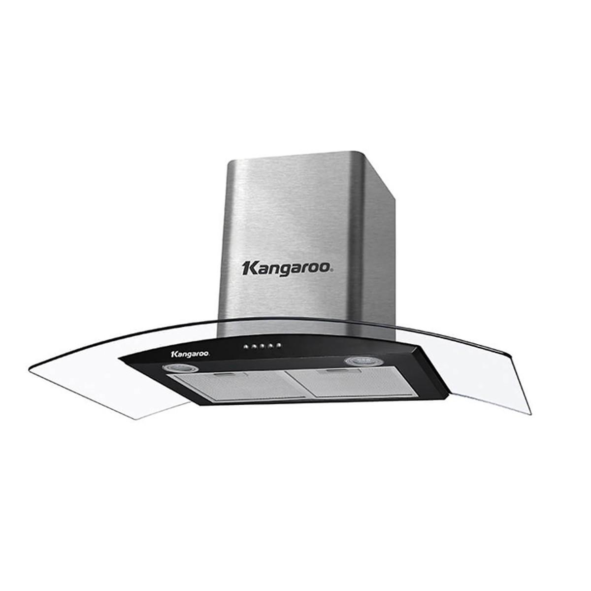 Máy hút mùi kính cong Kangaroo KG526