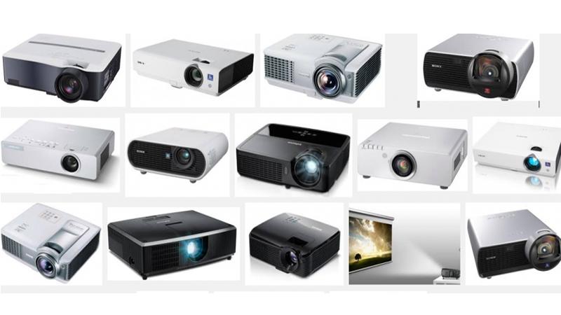 Các loại máy chiếu phổ biến