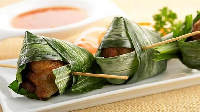 Cá nướng lá dứa