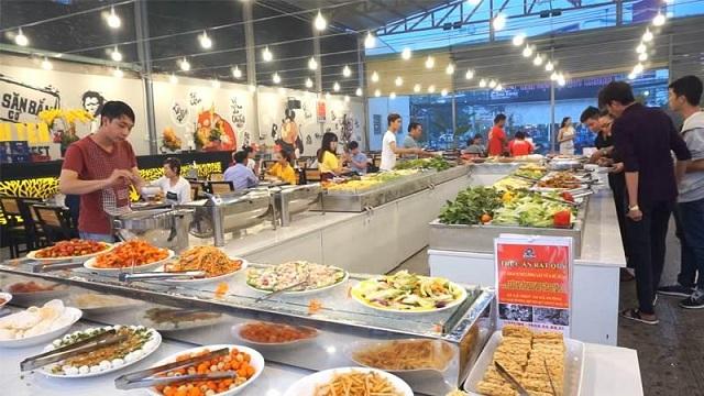 Quán Buffet Chú Tèo ở 16A Phạm Văn Đồng, p.Hiệp Bình Chánh, Thủ Đức