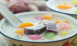 Cách nấu món chè khoai lang thơm ngon, ngọt bùi 7