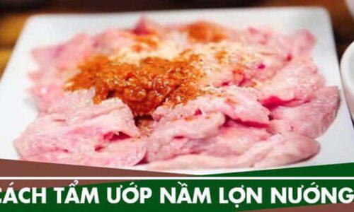 Cách tẩm ướp món nầm lợn nướng hấp dẫn nhất hiện hay