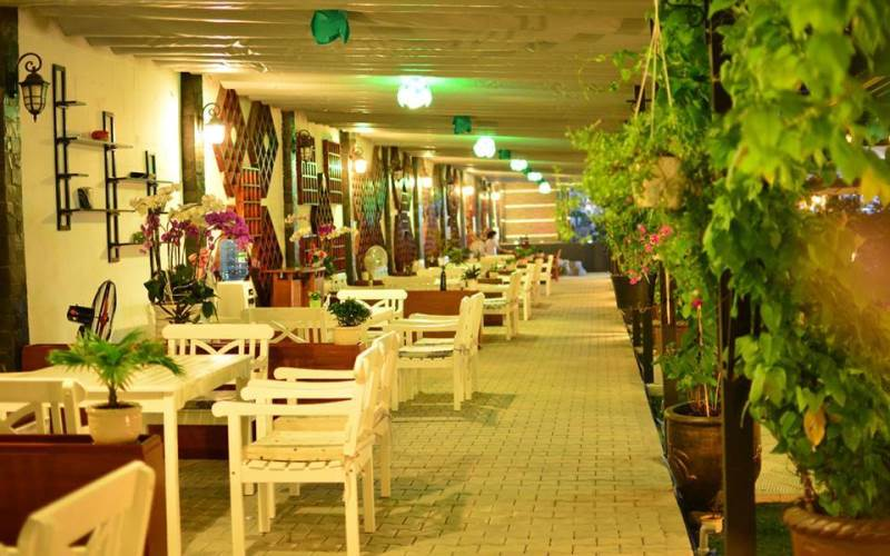 Green Garden Coffee – không gian xanh ngay giữa lòng thành phố