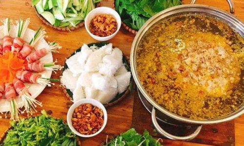 Cách nấu lẩu cua đồng miền nam ngọt mát tại nhà