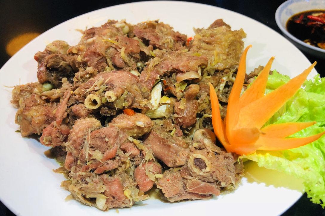 Cách nấu thịt ngỗng giả cầy ngon