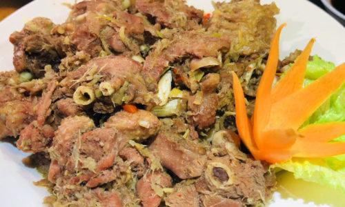 Cách nấu thịt ngỗng giả cầy thơm ngon đặc sắc