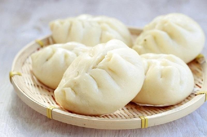 Thưởng thức bánh bao hấp nồi cơm điện