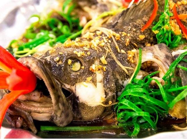Cách làm cá bống mú hấp Hồng Kông