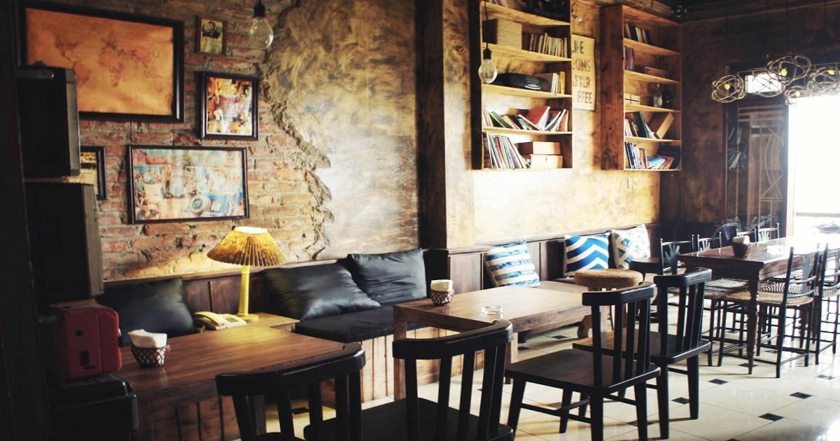 Quán cafe dành cho những cặp tình nhân