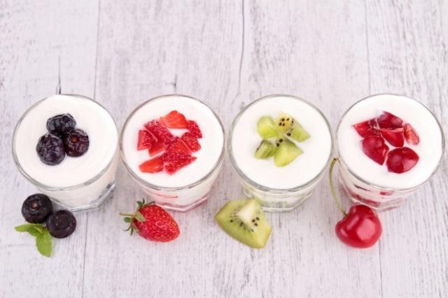 Sữa chua hoa quả - chút biến tấu cho hương vị thêm độc đáo