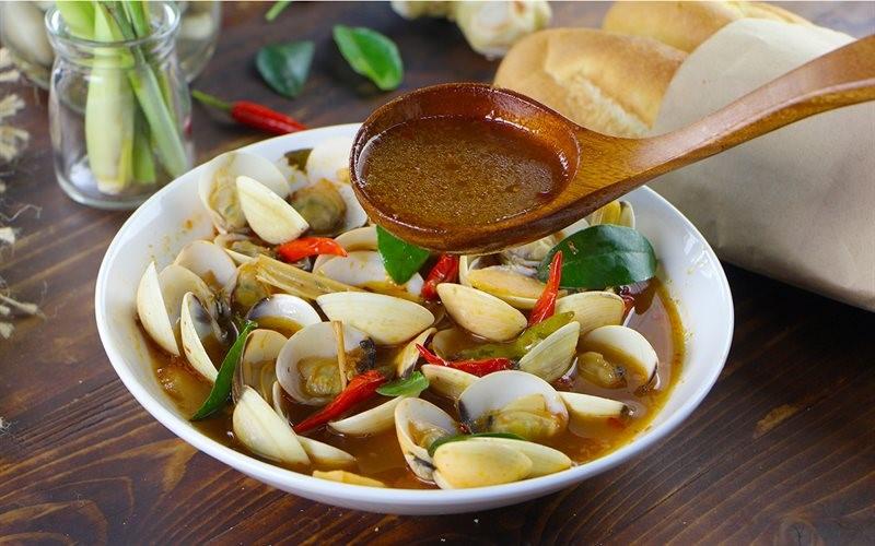 Cách tiến hành nấu nghêu hấp Thái đơn giản tại nhà