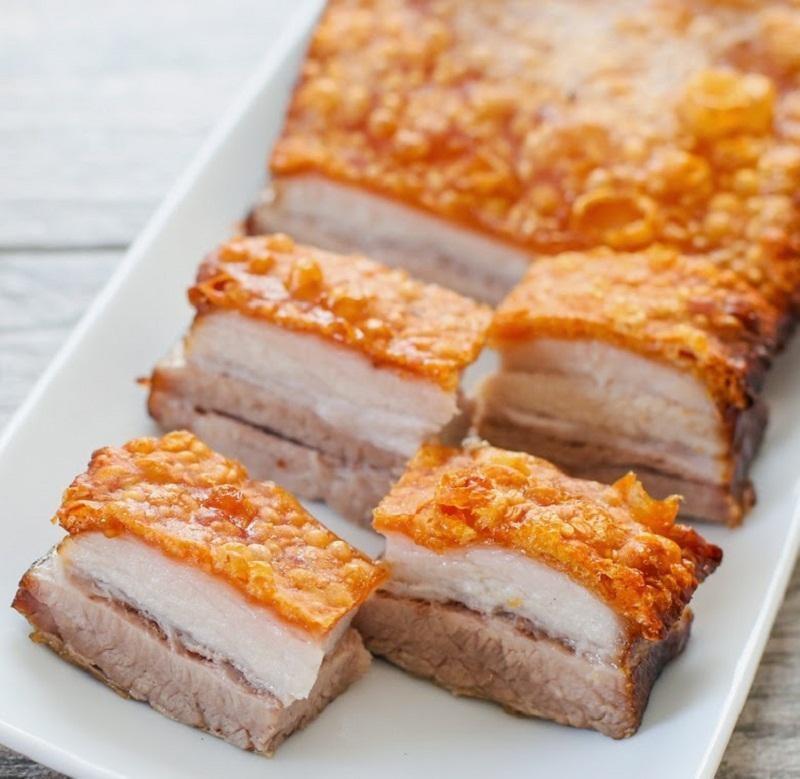 Thịt heo quay thơm ngon