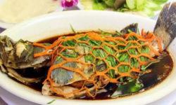 Cách làm cá bống mú hấp Hồng Kông đánh thức vị giác 3