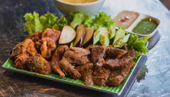 Món nướng tại Khói BBQ