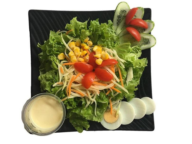 Cách làm salad rau trộn giảm cân vô cùng đơn giản