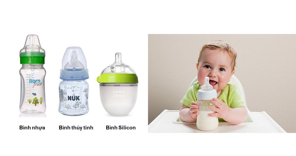 Chọn chất liệu bình sữa