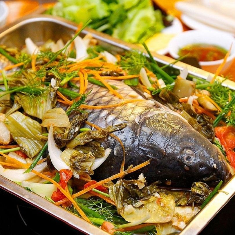Kinh nghiệm nấu cá chép om dưa thịt ba chỉ chuẩn vị