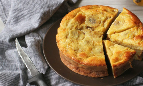Cách làm bánh chuối nướng bằng nồi cơm điện thơm dễ làm cho tất cả mọi người