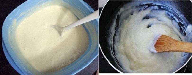 Bột làm bánh sữa tươi chiên