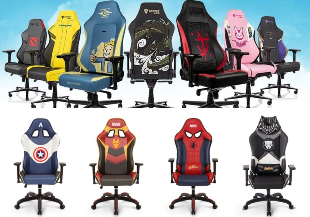kiểu dáng ghế gaming