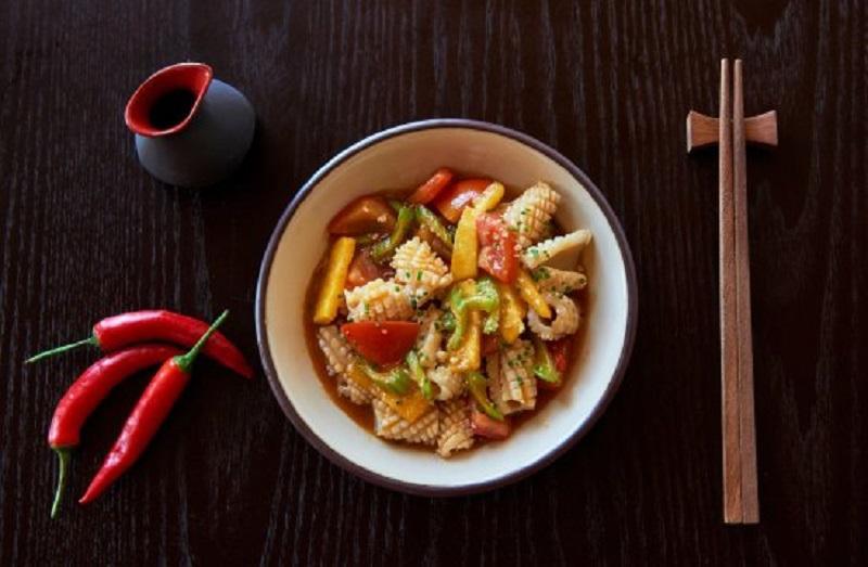 Cách xào mực tươi với dứa đúng cách để có món ngon, bổ dưỡng