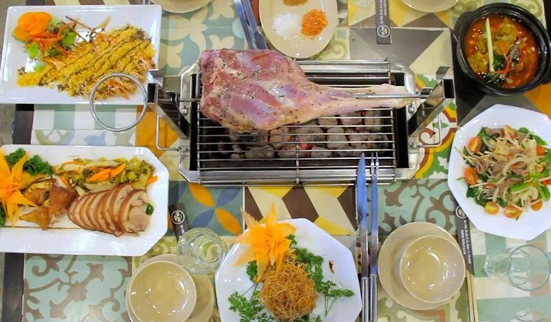 Thưởng thức các món chế biến từ thịt cừu tại LokCok Sai Gon