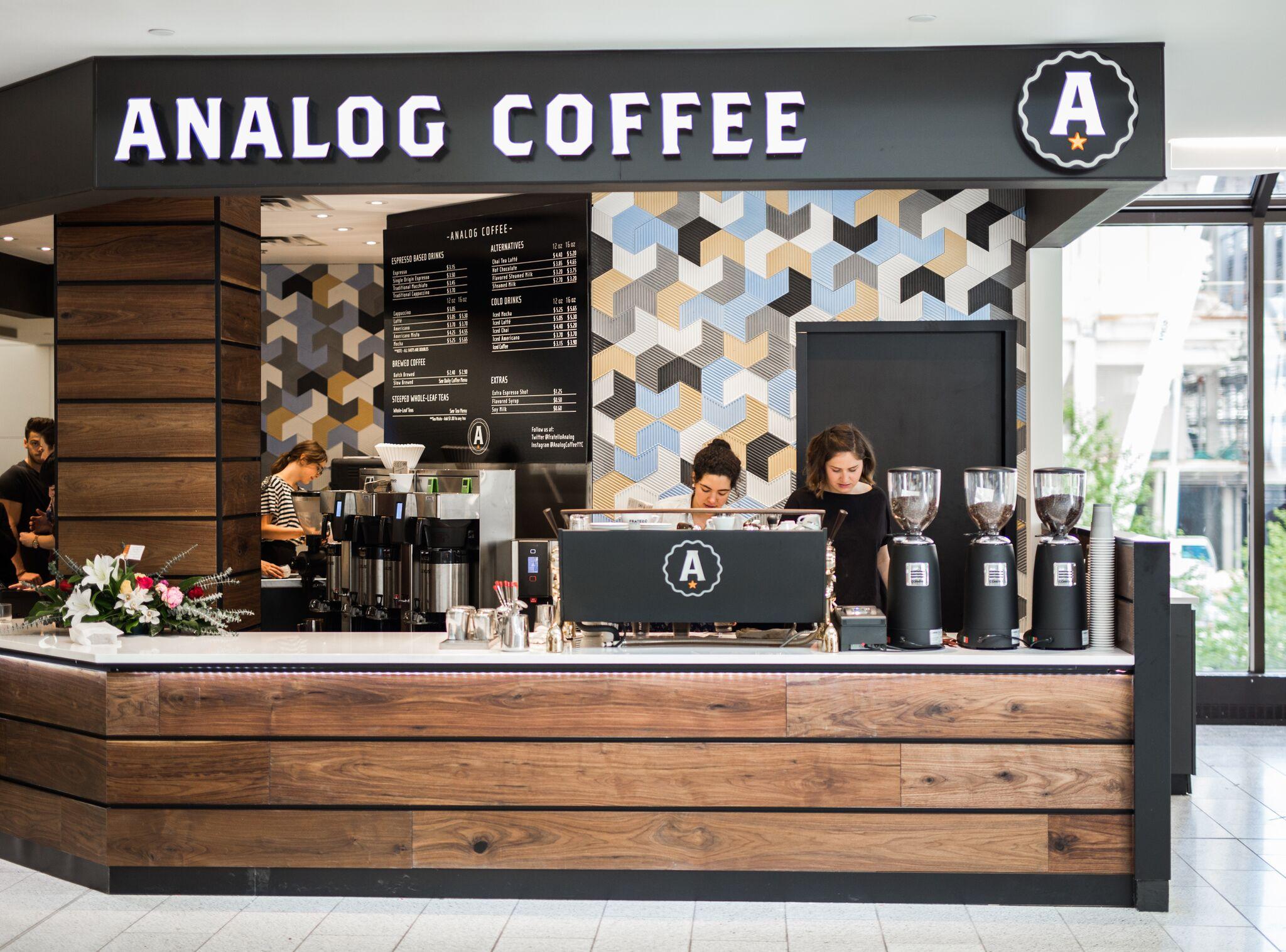 Analog coffee mang một nét đẹp cổ điển