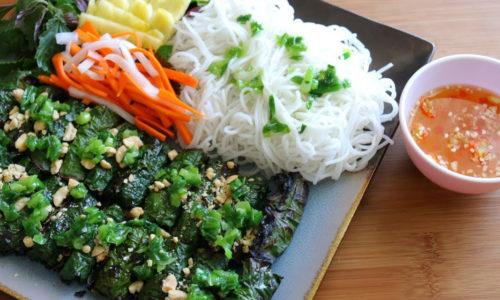 Cách làm bò nướng lá lốt chuẩn hương vị Việt