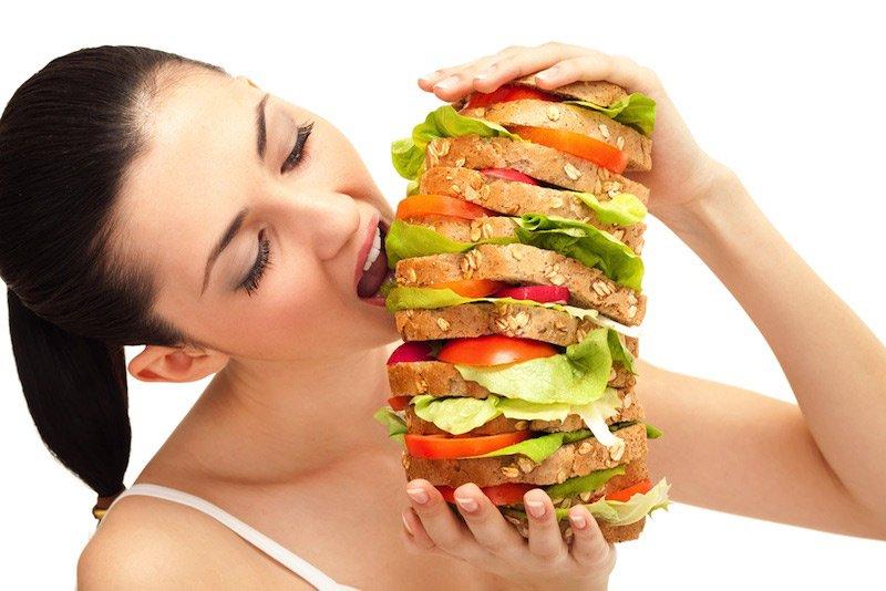 Người gầy ăn nhiều và nhanh hơn